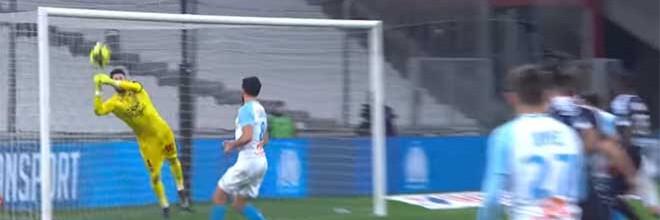 Benoît Costil dá um espetáculo de seis defesas – Marseille 1-0 Bordeaux