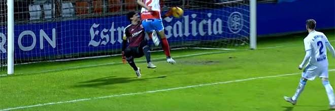 Cristián Álvarez defende quase tudo de forma espetacular – CD Lugo 1-2 Zaragoza