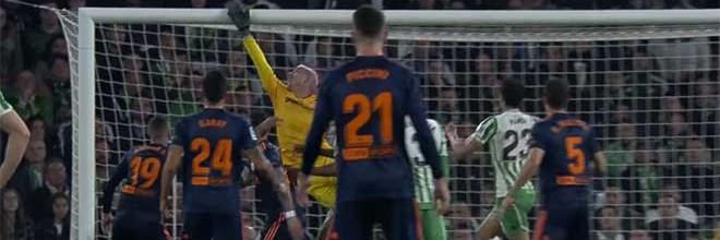 Joel Robles assina duas defesas vistosas – Bétis 2-2 Valencia CF