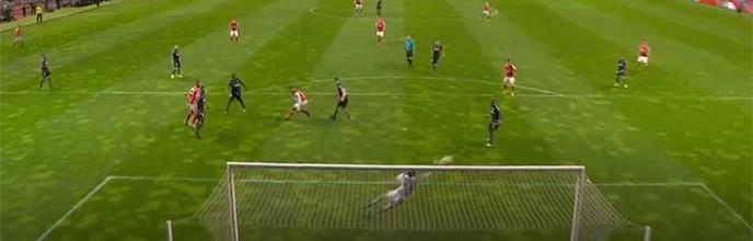 João Miguel Silva destaca-se ao impedir três golos – SC Braga 1-0 Vitória SC