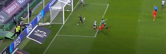 Renan Ribeiro intervém com destaque em três lances – Sporting CP 3-1 Portimonense SC
