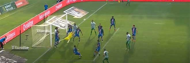 Quentin Beunardeau faz defesa espetacular – Rio Ave FC 0-2 CD Aves