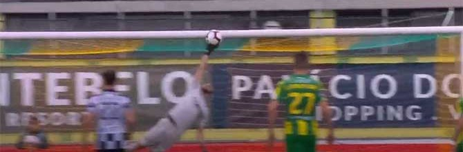 Rafael Bracali voa para defesa espetacular – CD Tondela 1-0 Boavista FC