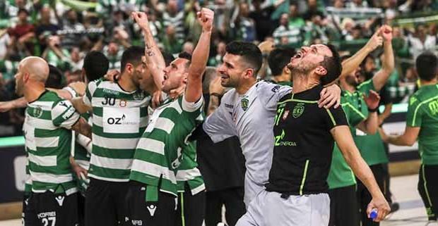 """André Girão conquista Liga Europeia pelo Sporting CP e é aclamado como """"melhor do Mundo"""""""