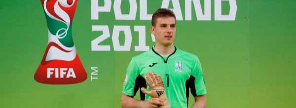 Andriy Lunin eleito o Luva de Ouro do Mundial sub-20