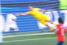 Christiane Endler protagoniza defesa espetacular – Estados Unidos 3-0 Chile