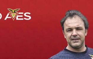 Quim transita de diretor para treinador de guarda-redes no CD Aves