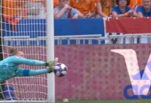 Sari van Veenendaal intervém com nível antes de sofrer na final – Estados Unidos 2-0 Holanda