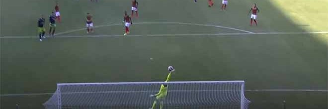 Charles Marcelo assina defesa vistosa em remate sinuoso – CS Marítimo 1-1 Sporting CP