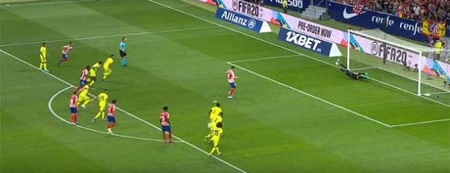 David Soria defende penalti de forma espetacular – Atlético de Madrid 1-0 Getafe CF