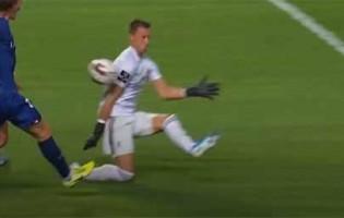 Odisseas Vlachodimos tranca a baliza em duas intervenções – SL Benfica 2-0 Gil Vicente FC