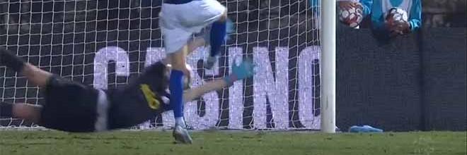Agustín Marchesín atira-se para defesa espetacular – Os Belenenses 1-1 FC Porto