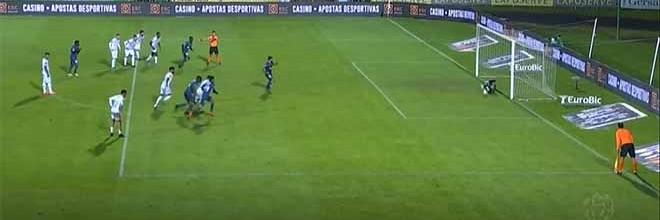 Giorgi Makaridze defende grande penalidade – Vitória FC 1-0 CD Aves
