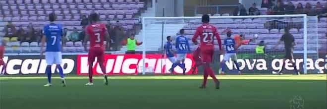 André Moreira destaca-se em defesa espetacular na vertigem do golo – Gil Vicente FC 2-0 Os Belenenses