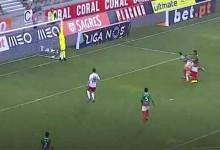 Amir Abedzadeh intervém duas vezes em quinze segundos – CS Marítimo 1-2 SC Braga
