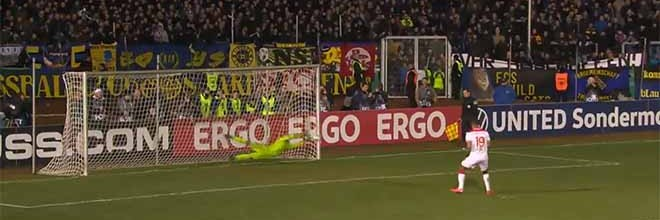 Daniel Batz defende cinco penaltis e leva FC Saarbrücken à meia-final da Taça da Alemanha