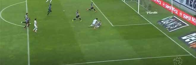 Helton Leite evita dois golos e começa terceiro golo com pontapé – Boavista FC 3-1 Vitória FC