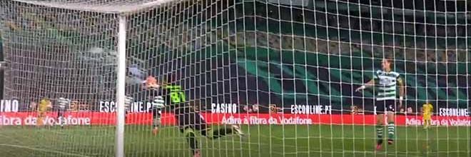 Luís Maximiano fecha a baliza em três situações – Sporting CP 1-0 FC Paços de Ferreira