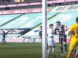Marco Rocha assina defesa vistosa após precipitação – Vitória FC 2-2 CD Santa Clara