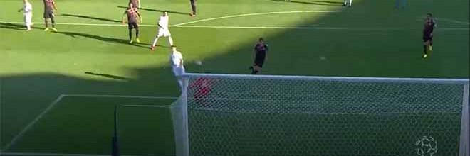 Mateus Pasinato sai da baliza para fazer defesa vertiginosa – Vitória SC 1-1 Moreirense FC