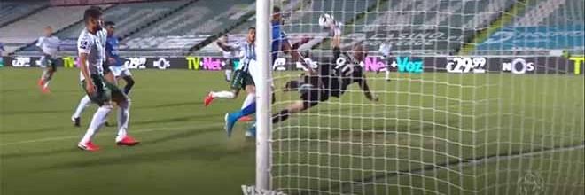 Giorgi Makaridze intervém duas vezes para fechar a baliza – Vitória FC 2-0 Os Belenenses