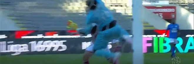 Hervé Koffi em defesa vertiginosa entre lances com dificuldades – SC Braga 1-1 Os Belenenses