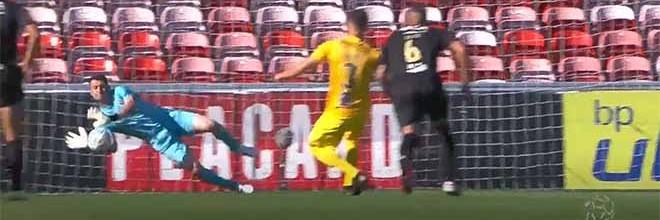 Dênis defende grande penalidade – Gil Vicente FC 1-0 Portimonense SC
