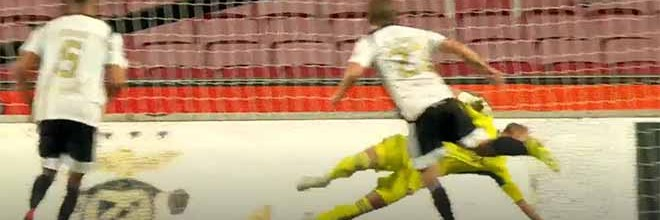Odisseas Vlachodimos defende penalti duas vezes além de outra intervenção – SL Benfica 3-2 SC Farense