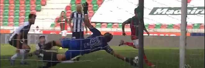Samuel Portugal impede mais golos de forma fortuita – CS Marítimo 1-2 Portimonense SC