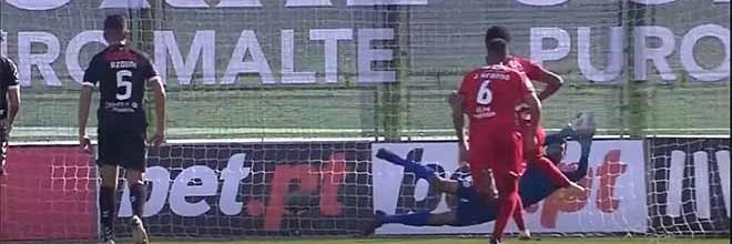 Daniel Guimarães defende dois penaltis e mais – CD Nacional 2-1 Gil Vicente FC