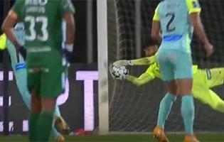 Amir Abedzadeh coloca-se em defesas entre precitação em golo sofrido – Rio Ave FC 1-3 CS Marítimo