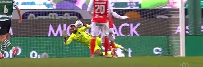 Antonio Adán impede golos em defesas destacáveis – Sporting CP 2-0 SC Braga