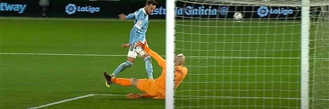 Marko Dmitrovic vale empate ao abafar situações – RC Celta de Vigo 1-1 SD Eibar