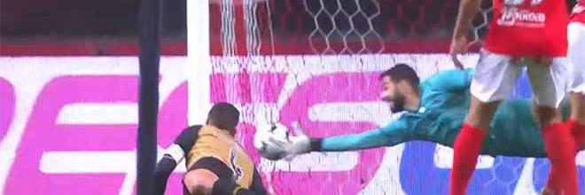 André Ferreira protagonista em defesas destacáveis – SC Braga 2-1 CD Santa Clara
