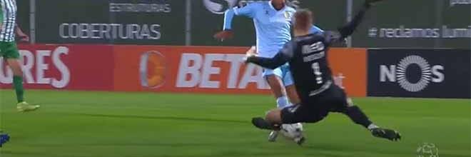 Pawel Kieszek exigido em quatro situações – Rio Ave FC 0-0 CD Nacional