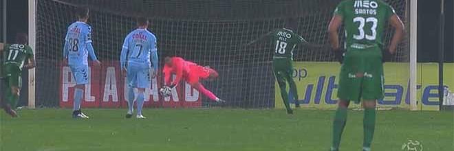Riccardo Piscitelli comete e defende penalti no último lance do jogo – Rio Ave FC 0-0 CD Nacional
