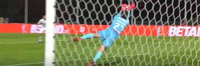 Stanislav Kritciuk afasta golos antes de saída com final assustador – Belenenses SAD 0-0 FC Porto