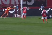 Matheus Magalhães destaca-se em defesas de nível – SC Braga 0-2 SL Benfica