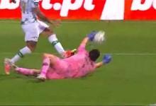 Agustín Marchesín antecipa-se a decisão e defende – Moreirense FC 1-1 FC Porto