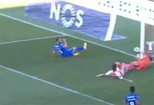 Matheus Magalhães faz defesa espetacular antes de precipitação – SC Braga 1-1 Belenenses SAD