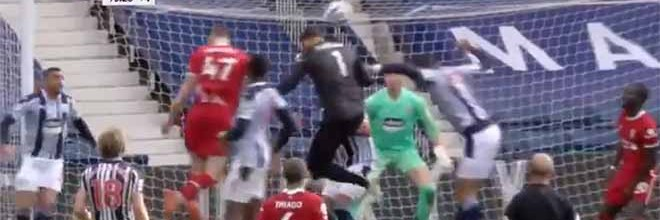 Alisson Becker marca golo de cabeça para dar Europa à equipa – West Bromwich 1-2 Liverpool FC