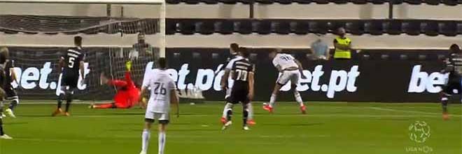 Bruno Varela faz defesa de último grito após erro com golo sofrido – SC Farense 2-2 Vitória SC