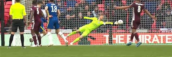 Kasper Schmeichel faz defesas de qualidade para vencer a FA Cup – Leicester City FC 1-0 Chelsea FC