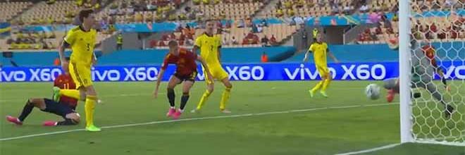 Robin Olsen protagonista em três intervenções – Espanha 0-0 Suécia (Euro'2020)