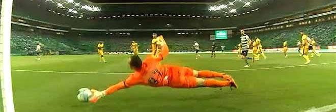 Charles Marcelo aparece em dois momentos – Sporting CP 3-0 FC Vizela