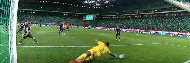 Luiz Felipe termina jogo com defesa de nível após erro com golo sofrido – Sporting CP 2-0 Belenenses SAD