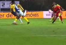 Diogo Garrido intervém em duas circunstâncias – SU Sintrense 0-5 FC Porto